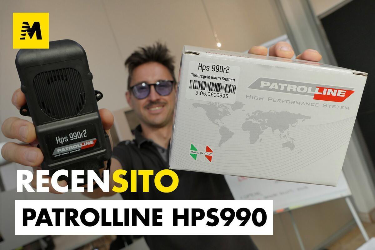 Patrolline HPS 990. Anti-vol de radio par satellite contrôlé avec le GSM et GPS intégré