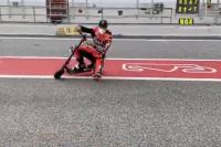 Scott Redding: genou sur l'asphalte, même sur un scooter (Vidéo)
