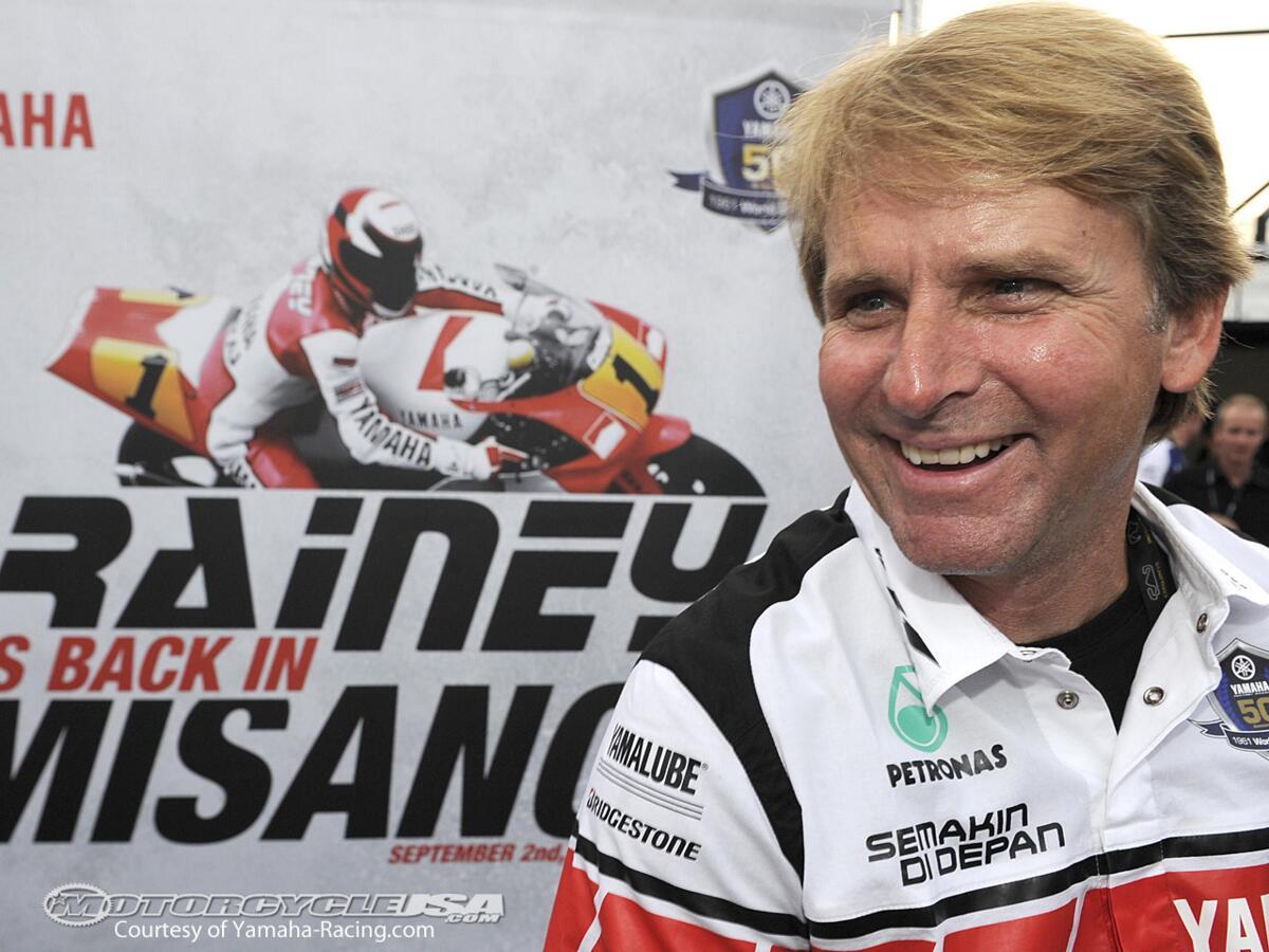 Wayne Rainey: j'aurais bien aimé essayer le championnat du Monde Superbike