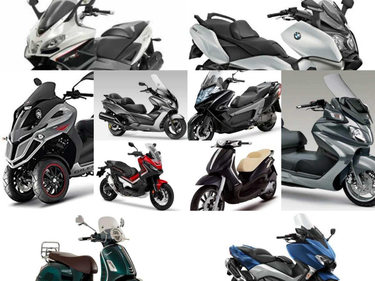 Conseils pour le shopping: 10 maxi scooter utilisé pour voyager