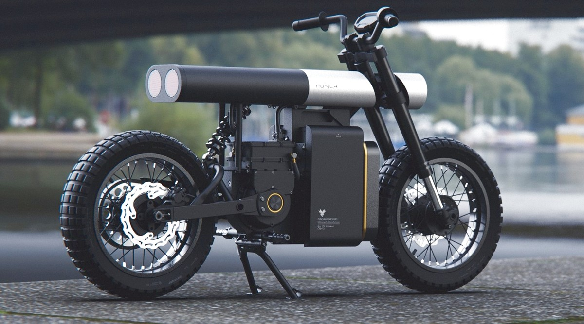 Le coup de poing le E-bike Concept