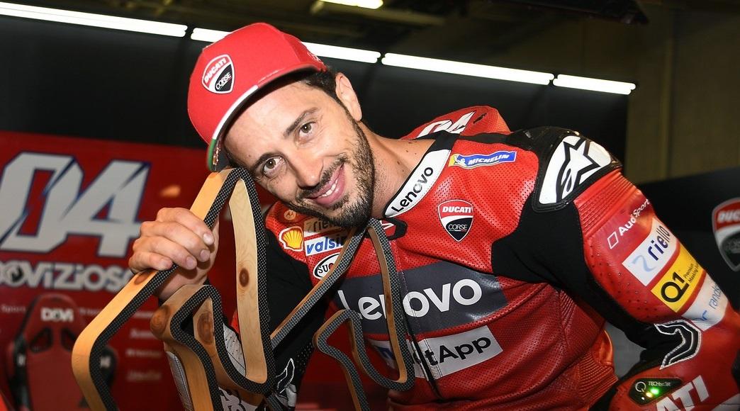 """Dovizioso et Ducati et triumph en Autriche: """"Staccavo vraiment effrayant!"""""""